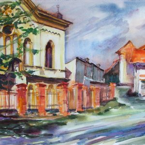 margita resovska - cestou ku synagoge presov 2015
