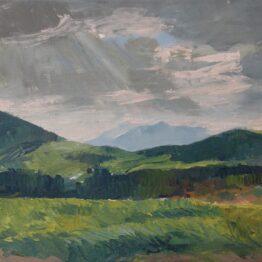 jaroslav staviscak - Pohľad na krajinu pri Vyšných Ružbachoch, 2009