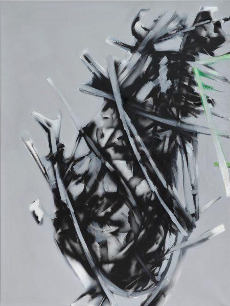 stano salko - zahrada, diptych 1,2, akryl, 2016