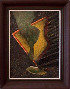 ladislav majorosi - bol som v parku, olej na kartone, 1992