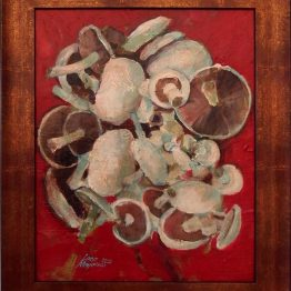 ladislav majorosi - huby 1, akryl na sololite, 2014