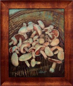 ladislav majorosi - huby 2, akryl na sololite, 2014