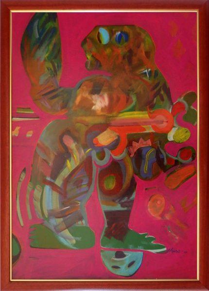 ladislav majorosi - ja, akryl na lepenke, 2007
