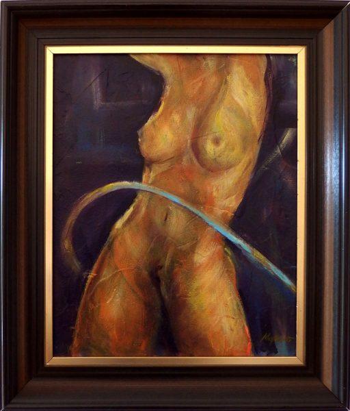 ladislav majorosi - odviazanie, akryl na sololite, 2006