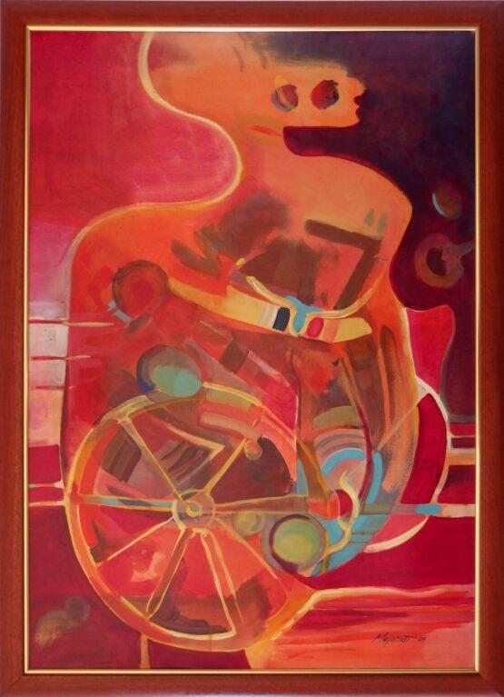 ladislav majorosi - ty, akryl na lepenke, 2007