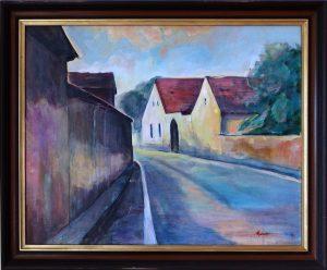 ladislav majorosi - v juz. cechach, akryl na platne, 2002