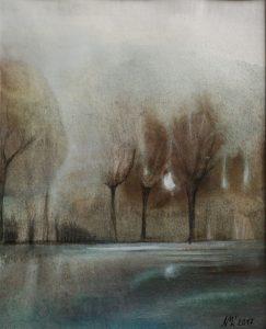 Marcela-Nagyová-Ľudrovanová-Úžas-2-akvarel-na-papieri