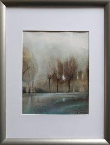 Marcela-Nagyová-Ľudrovanová-Úžas-2-akvarel-na-papieri-ram