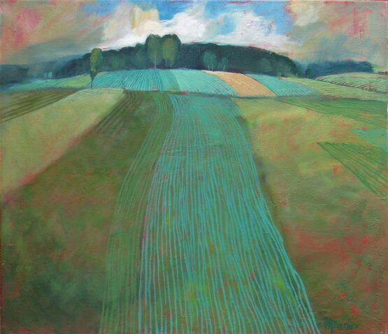 Miroslav-Bucher-Portrét-zeme-Polia-2-olejomaľba-na-plátne