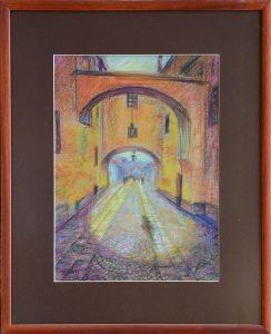 Rastislav-Kotal-Florianka-suchý-pastel-na-papieri