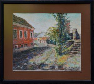 Rastislav-Kotal-Prešov-Okružná-suchý-pastel-na-papieri