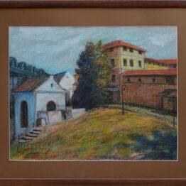 Rastislav-Kotal-Za-elektrárnou-suchý-pastel-na-papier