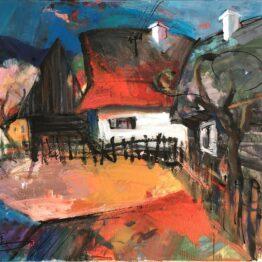 Jonsy-Gáll-Liptov-akryl-na-plátne-dielo