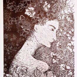 Miriam-Kavuličová-Tomašiaková-Bez-názvu-5-linoryt-papier-dielo