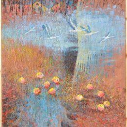 Ján-Bartko-Melanchólia-jesenných-záhrad-olejomaľba-na-plátne-umelecke-dielo