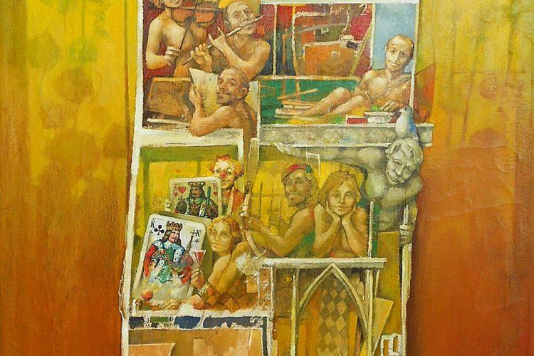 Ján-Koválik-Babylon-olejomaľba-na-plátne-umelecke-dielo