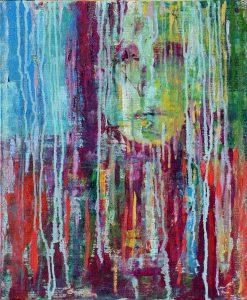 Miro-Pribiš-Slzy-v-daždi-acryl-olej-plátno-na-doske-umelecke-dielo