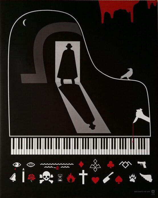 Richard-Otott-Nick-Cave-sublimačná-tlač-na-plátne-umelecke-dielo