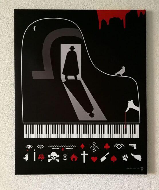 Richard-Otott-Nick-Cave-sublimačná-tlač-na-plátne