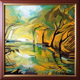Tomáš-Turzák-O-vode-a-slnku-olejomaľba-na-plátne-umelecke-dielo