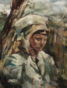 Gabriel-Kurák-Živý-bič-olejomaľba-na-plátne-slovensky-umelec