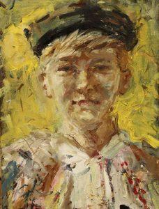 Gabriel-Kurák-Chlapec-olejomaľba-na-plátne-vytvarne-umenie