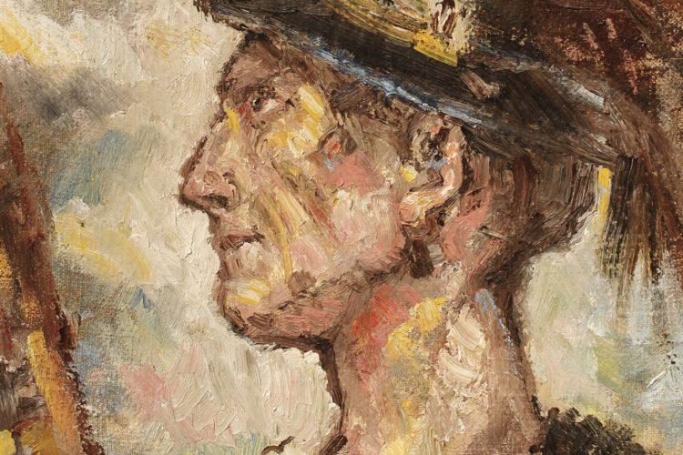 Gabriel-Kurák-Fujarista-olejomaľba-na-plátne-umelecke-dielo