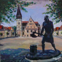 Ivan-Soroka-Bardejov-akryl-na-plátne-vytvarne-umenie