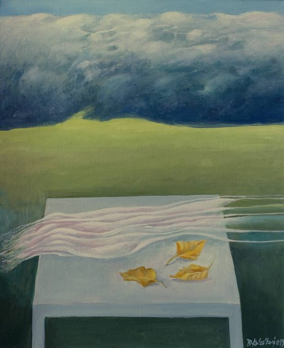 Běla-Kolčáková-Jesenné-zátišie-olejomaľba-na-plátne-umelecke-dielo