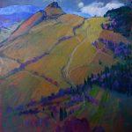 Miroslav Bucher – Portrét zeme – Na stráži, olejomaľba na plátne, 120 x 100 cm