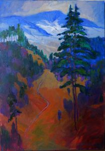 Miroslav-Bucher-–-Portrét-zeme-–-Rúbanisko-olejomaľba-na-plátne-umelecke-dielo