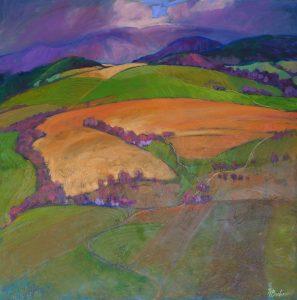 Miroslav-Bucher-–-Portrét-zeme-–-Zasiate-olejomaľba-na-plátne-predajna-galeria