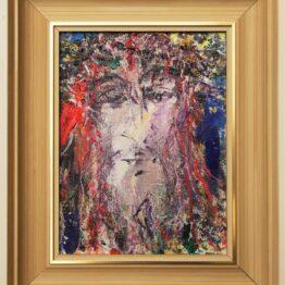 Hubert-Čepiššák-–-Tŕním-korunovaný-olejomaľba-na-plátne-slovensky-maliar