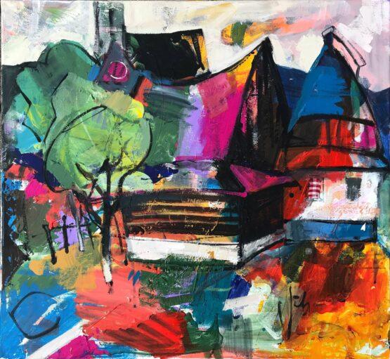 Jonsy-Gáll-–-Ticho-akryl-na-plátne-vytvarne-umenie