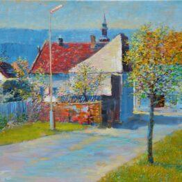 Ján-Bartko-–-Jar-v-Prešove-olejomaľba-na-plátne-predajna-galeria