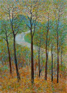 Ján-Bartko-–-Jar-v-lese-olejomaľba-na-plátne-galeria