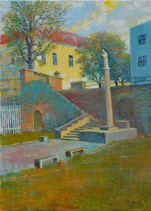 Ján-Bartko-–-K-Stromoradiu-olejomaľba-na-plátne-dielo