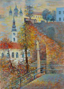 Ján-Bartko-–-Prešovské-jesenné-pastorále-olejomaľba-na-plátne-predajna-galeria
