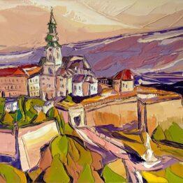 Tomáš-Turzák-–-Panoráma-Nitry-akryl-na-plátne-predajna-galeria