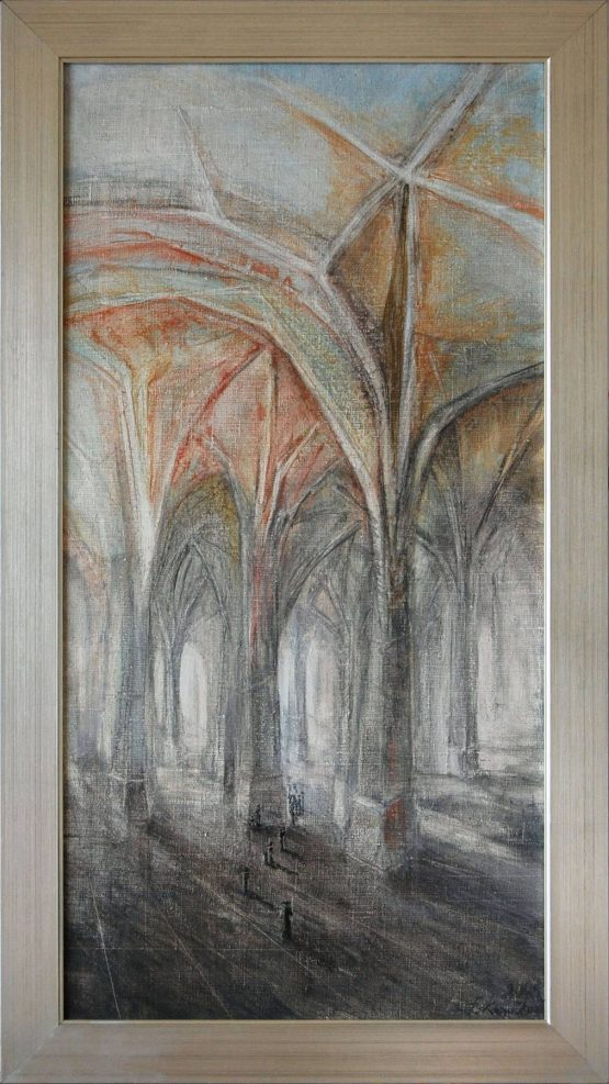 Eva-Kornuciková-Svetlo-olejomaľba-na-plátne-dielo
