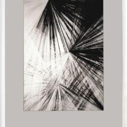 Viera-Černáková-Kryštalizácia-kresba-uhľom-na-papieri-dielo