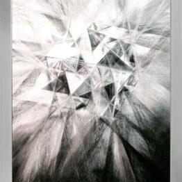 Viera-Černáková-Posolstvo-kresba-uhľom-na-papieri-predajna-galeria
