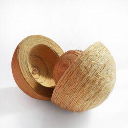 Viera-Cernakova-–-Zrod-individualna-textilna-technika-–-spagat-drevo-med-dielo