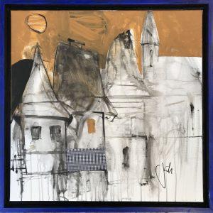 Jonsy-Gáll-Večerná-prechádzka-akryl-na-plátne-predaj-obrazov-oline