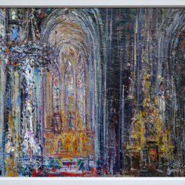 Hubert-Čepiššák-Ticho-katedrály-1-olejomaľba-na-plátne-kosice