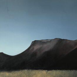 Jana-Čepa-Odfarbená-krajina-olejomaľba-na-plátne-vytvarne-umenie