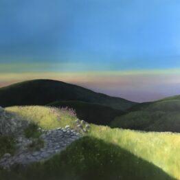 Jana-Čepa-Z-tmy-do-svetla-olejomaľba-na-plátne-umelecke-dielo