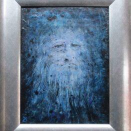 Milan-Pučan-–-Leonardo-2.-akryl-ceruza-vytvarne-umenie