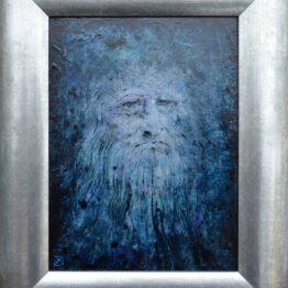Milan-Pučan-Leonardo-2.-akryl-ceruza-na-sololite-predaj-obrazov