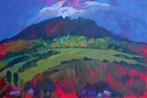 Miroslav-Bucher-–-Portrét-zeme-–-Kyčera-2-olejomaľba-na-plátne-obrazy-na-predaj